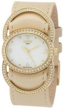 Cobra CO213SG5L3 Dame Fashion Analog Mother-Of-Pearl