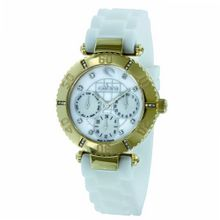 Cobra - CO230SG5S1 - Ladies - Analogue Quartz - Mother of Pearl Dial - White Silicone Strap