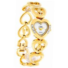 Colibri Mother's Joy 4 Diamond Gold Tone Child Heart Bracelet 301583302