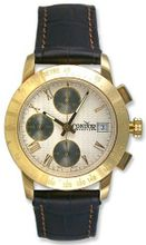 Condor Automatic Chronograph Tachymetre Scale 18k Gold Strap Date