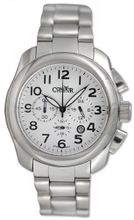 Condor Classic Chronograph Stainless Steel Date White Dial CWS109