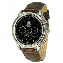 Constantin Durmont Automatic CD-BEAU-AT-LT-STST-BKBR with Leather Strap