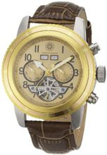 Constantin Durmont Automatic CD-PUEB-AT-LT-STGD-GD with Leather Strap