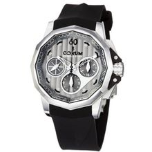 Corum 75377120/F371AK Admiral Cup Black Rubber Strap Grey Dial