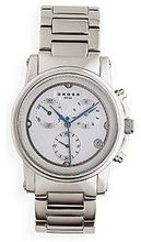 Cross Chronograph Stainless Case White Dial