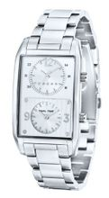 Cross Gotham Gents Dual Time Stainless Steel Bracelet Strap CR8004-22