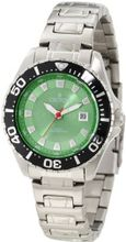 Croton CA201228SSGR Green Dial Stainless Steel