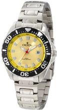 Croton CA201228SSYL Yellow Dial Stainless Steel