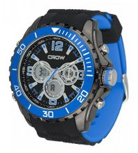 CROW-NO Chronograph 5ATM Sports Blue