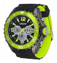 CROW-NO Chronograph 5ATM Sports Green