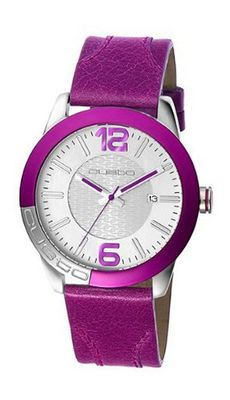 RELOJ CUSTO COLOURS LILA CU038603