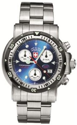 CX Swiss Military 1727 Sea Wolf 1 - Blue