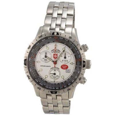 CX Swiss Military Unisex 1735 Multi-Purpose Chronograph