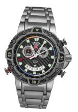 Military Chronograph Swiss Black Regatta Yacht Racing Typhoon CX Titanium Carbon Fiber