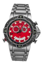 Military Chronograph Swiss Red Regatta Yacht Racing Typhoon CX Titanium Carbon Fiber