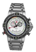 Military Chronograph Swiss Silver Regatta Yacht Racing Typhoon CX Titanium Carbon Fiber