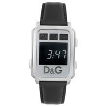 D&G Dolce & Gabbana DW0159 Sea Quest Collection Digital Black Leather