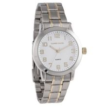 Daniel David DD11202 - Casual - White Dial & Two-tone Silver and Gold Metal Bracelet