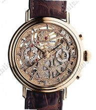 Daniel Mink Golden Skeleton Chrono