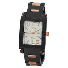 Daniel Steiger 5000-M Academy Swiss Quartz Black and Rose Gold
