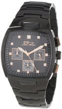 Daniel Steiger 8007-M Lapmaster Rose Gold and IP Black Chronograph