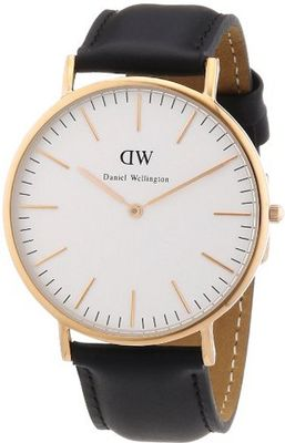Daniel Wellington Classic Sheffield Rosè Gold ´s 40mm Round Case