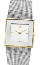 Danish Design by Tirtsah IV65Q973 Stainless Steel White Dial Gold Tone Bezel Ladie's