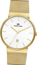 Danish Design IQ05Q971 Gold Tone Stainless Steel White Dial