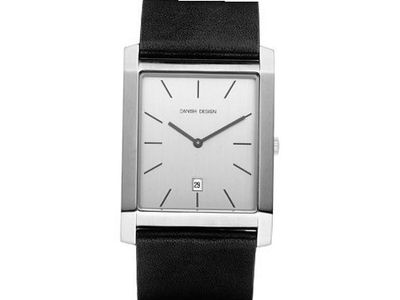 Danish Design IQ12Q922 Stainless Steel Case Silver Dial