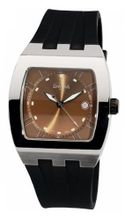 Davosa Cosmopolitan Analogue 16242265 with Brown Dial and 40 mm Stainless Steel Case