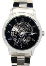 Daybird Elegant black Dial Stainless Steel Automatic es