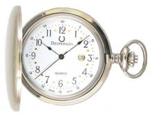 "Desperado ""Roosevelt"" Swiss Made Quartz Chrome Plated Pocket"