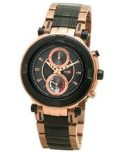 DFactory DFU016RBI Black Label Black Dial Bracelet Chronograph