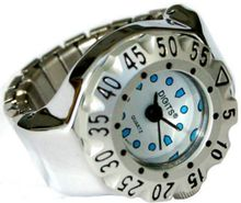 Stellar Diver Ring in Silver