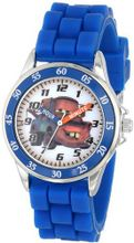 Disney Kids' CZ1010 Analog Display Analog Quartz Blue