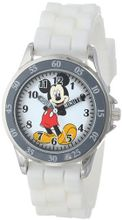 Disney Kids' MK1240 Analog Display Analog Quartz White