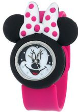 Disney Kids' MN1097 Analog Display Analog Quartz Pink