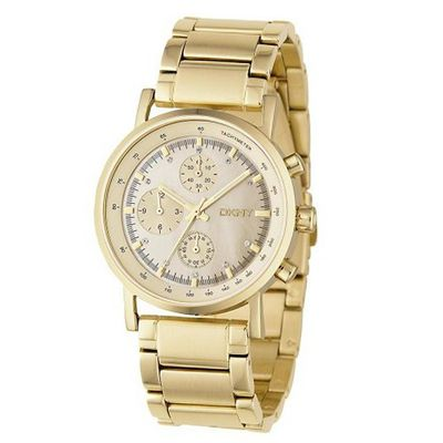 DKNY Chrono Quartz Stainless Steel NY4332