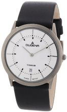 Dugena Design Gents Quartz With Leather Strap 4460336