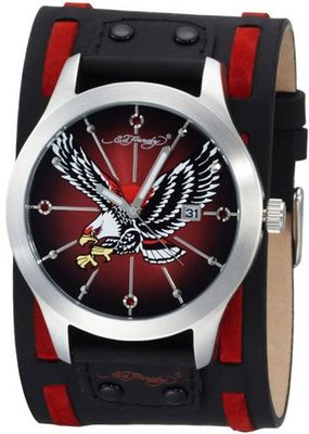 Ed Hardy GL-CEL Gladiator Contrast Eagle Stainless Steel 316L