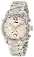 Edox 10019 3 AIN Royal Chronograph White Dial