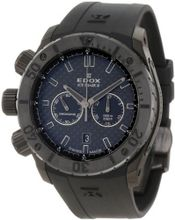 Edox 10304 37N2 GIN Ice Shark Black Multi-Function Rubber