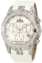 Edox 10404 3DB NAD Grand Ocean Chronograph Mother of Pearl Diamond