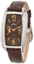 Edox 21222 3D BRIR First Lady Brown Dial Diamond