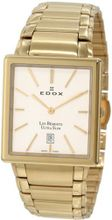 Edox 27031 37J AID Les Bemonts Rectangular Ultra Slim