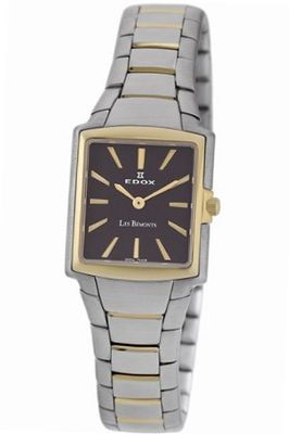 Edox 28126 357 BRID Les Bemonts Rectangular Ultra Slim