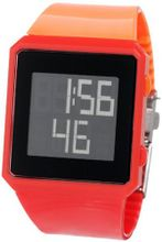 ELLETIME EG50001P01E ELLE Girl Red and Orange Clock Lock