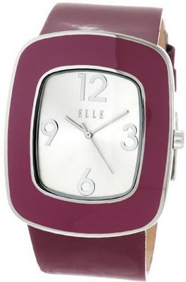 ELLETIME EL20015S13C Burgundy Leather Retro