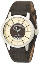 EOS New York 112SBRN Bullseyes Brown Leather Strap