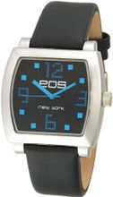 EOS New York 131LBLK Syntax Black Leather Strap